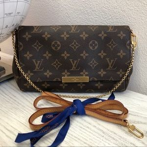 Louis Vuitton favorite mm monogram crossbody bag